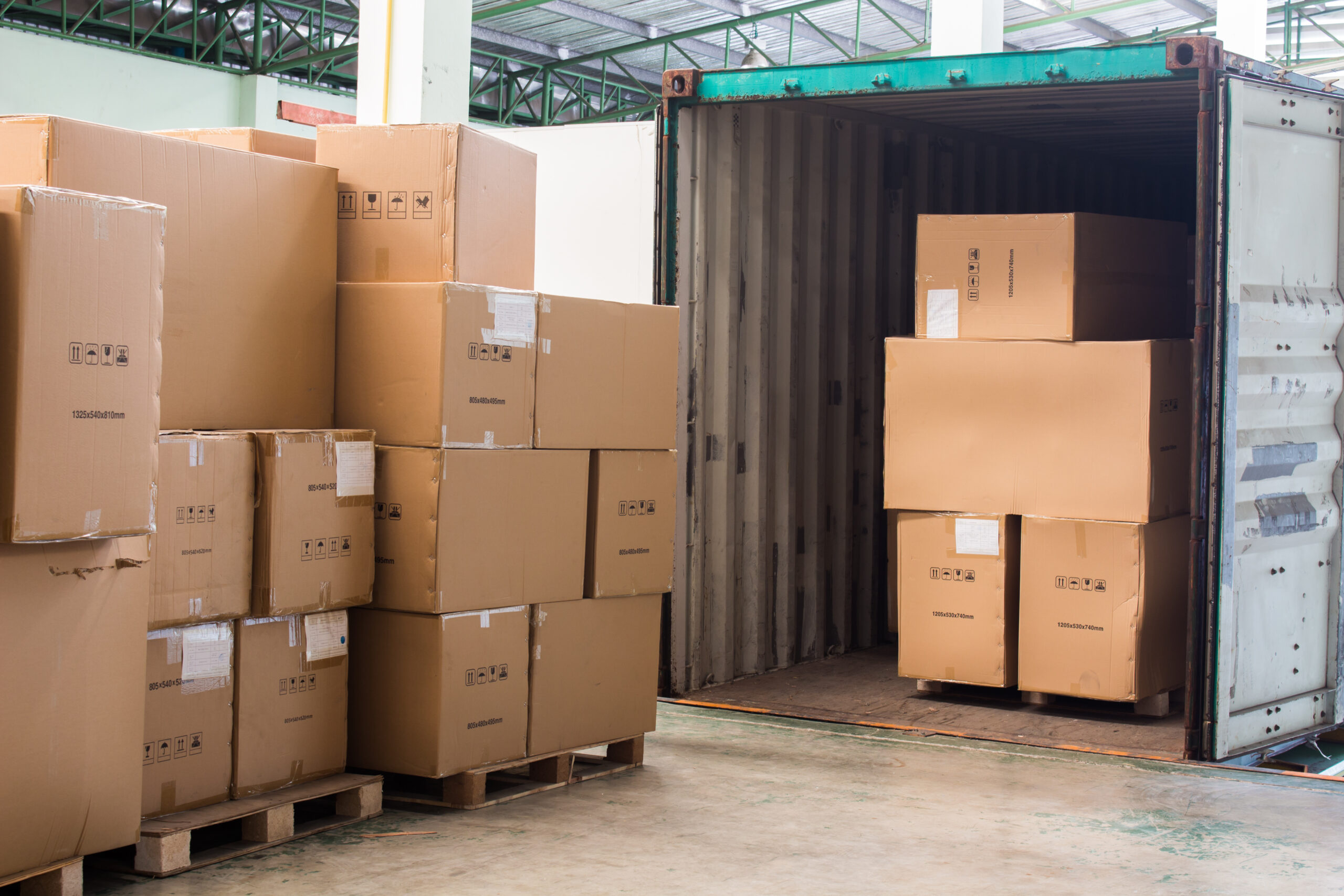 Trasporti Barbazza svuotamento container Frugarolo Alessandria Piemonte